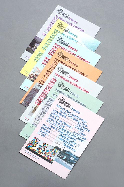 Multi color flyer